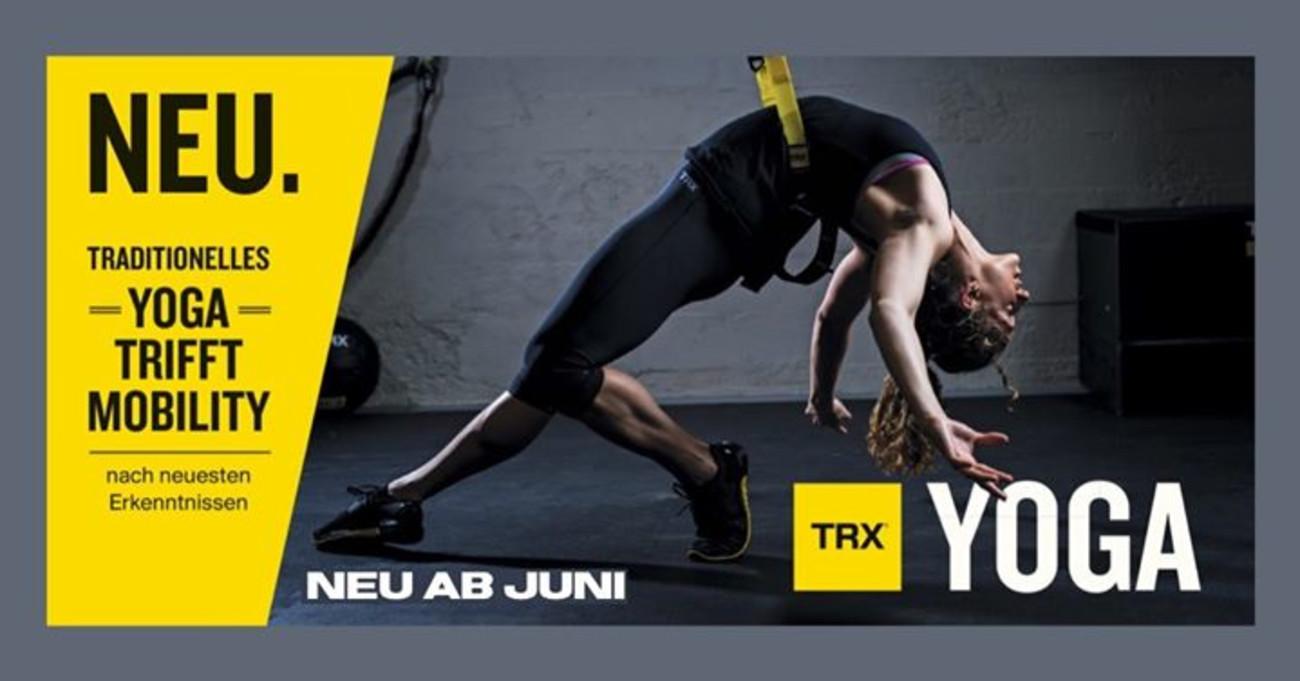 TRX Yoga neu im Programm ab Juni | ixmal® MEHR FITNESS